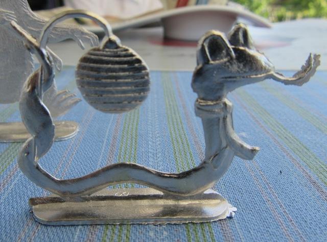 Laternenzug der Tiere, Flachfiguren 54 mm, Raizinn Schmal11