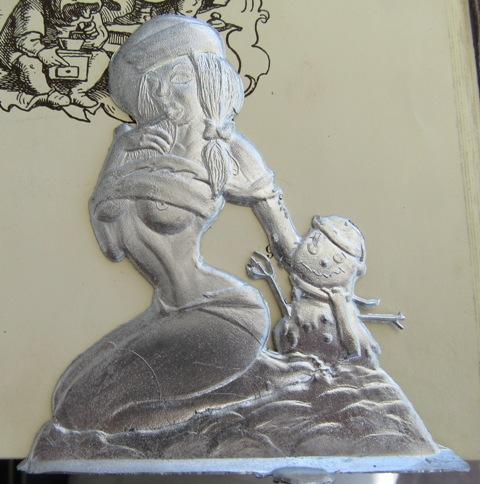 Laternenzug der Tiere, Flachfiguren 54 mm, Raizinn Schmal15