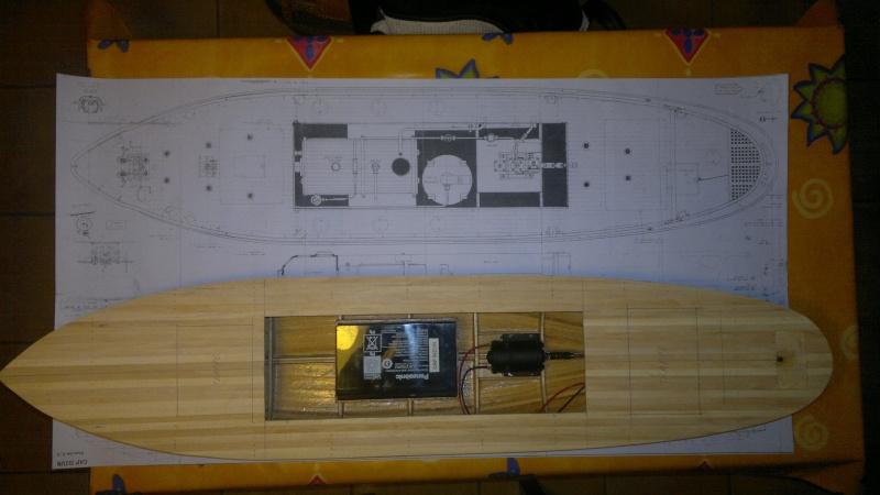 Remorqueur portuaire Cap Sizun (Plan 1/25°) de steph84150   04611