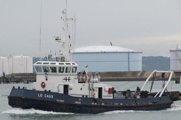 LE CAUX   Remorqueur du Havre 45766511