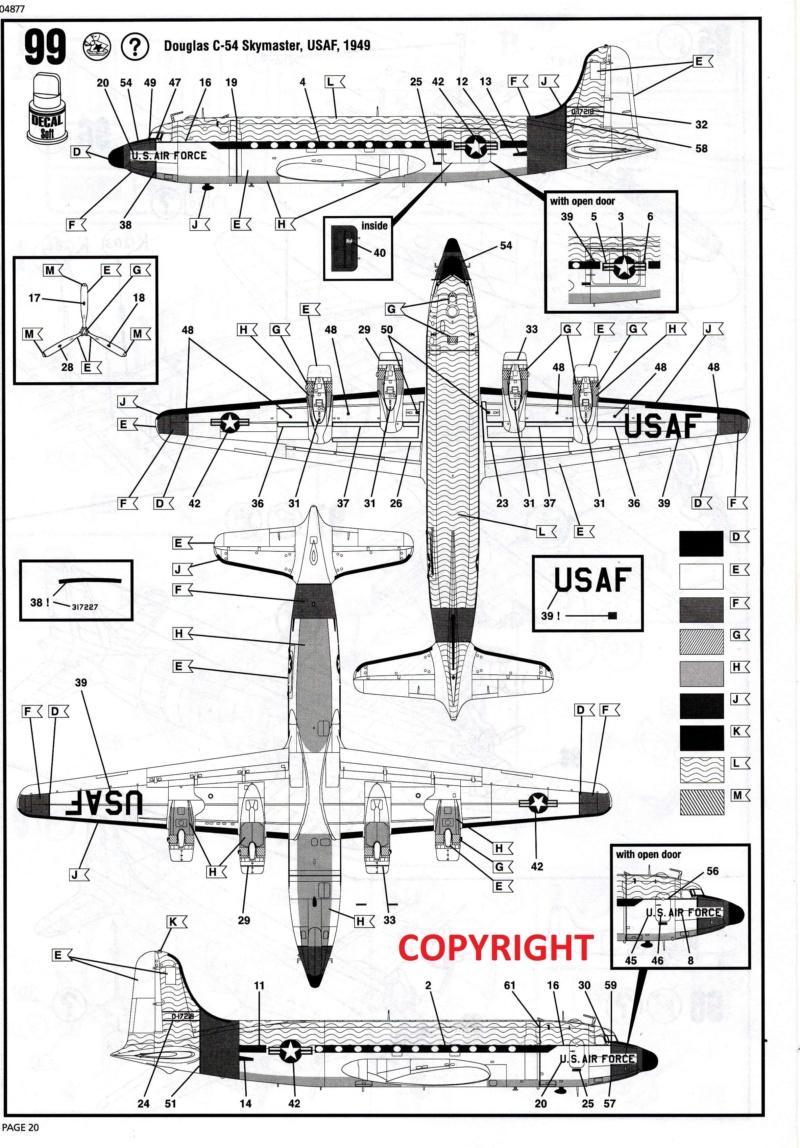 C-54 D  SKYMASTER in 1:72 von Revell. 19a10