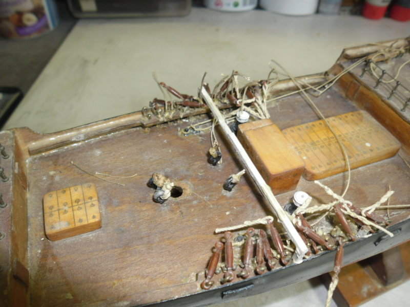 """Restaurierung eines Modells der """"Pamir"""" - Seite 2 Sam_9731"""