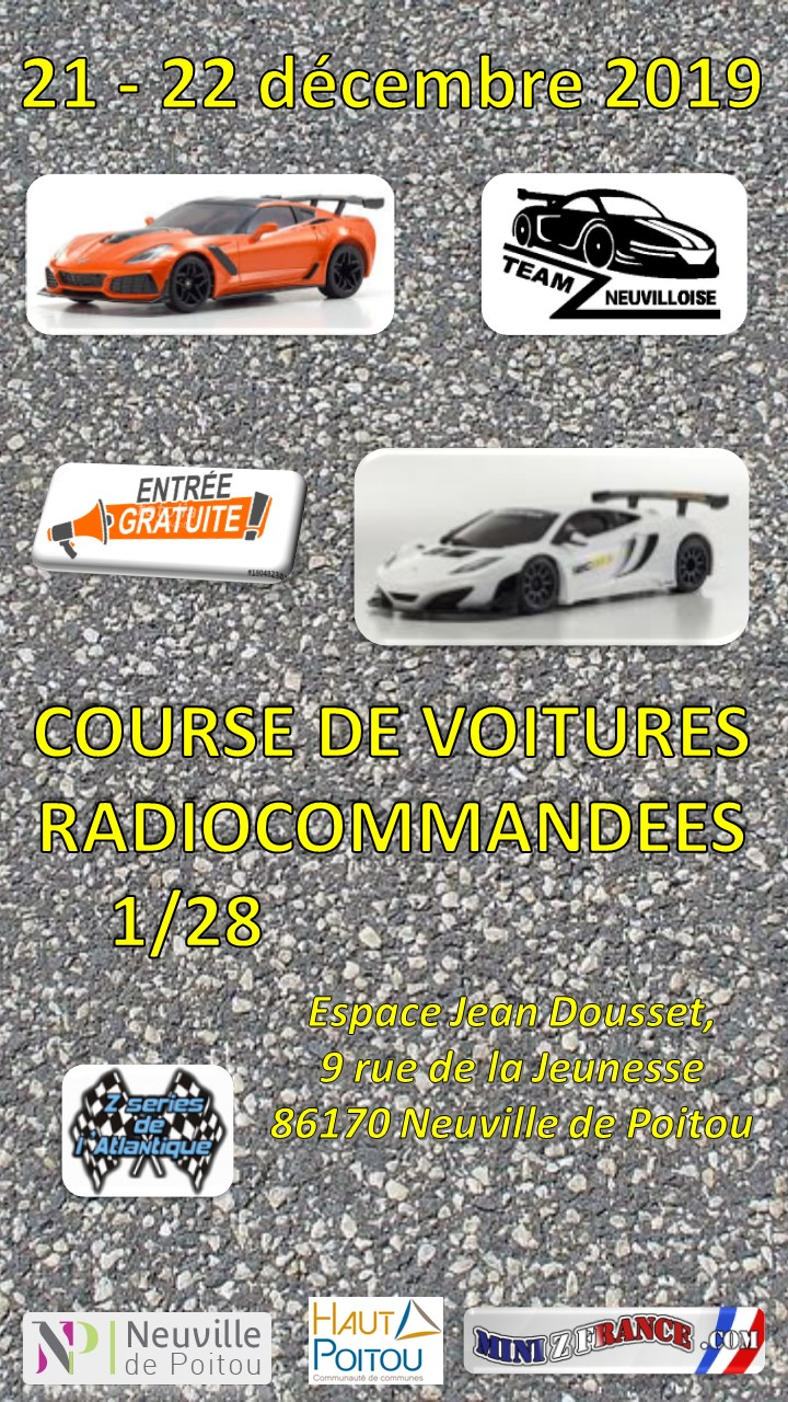 Z SERIES ATLANTIQUE - Team Z neuvilloise NEUVILLE DE POITOU (86)- 21 et 22 Décembre 2019 Course10