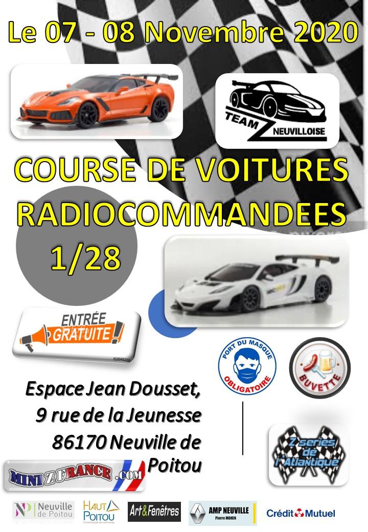 ANNULEE Z SERIES ATLANTIQUE - Team Z neuvilloise NEUVILLE DE POITOU (86)- 07 et 08 Novembre 2020 Course11