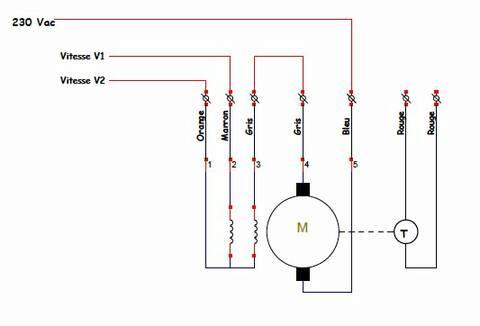 schema de branchement moteur machine à laver indesit ?