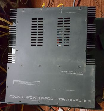 Counterpoint SA220 Power Amp 3110