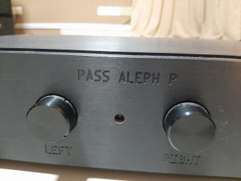 Pass Labs Aleph P Preamp (Sold) A310