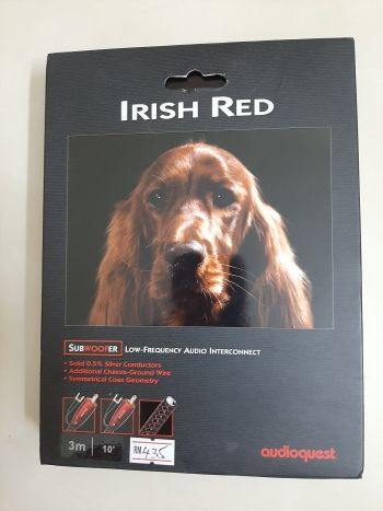 Audioquest Subwoofer Cable Irish Red 3m (Sold) B110