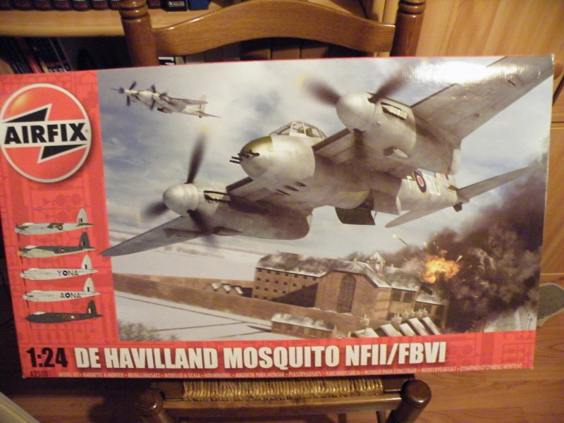 Mosquito 1/24 Airfix Montag17