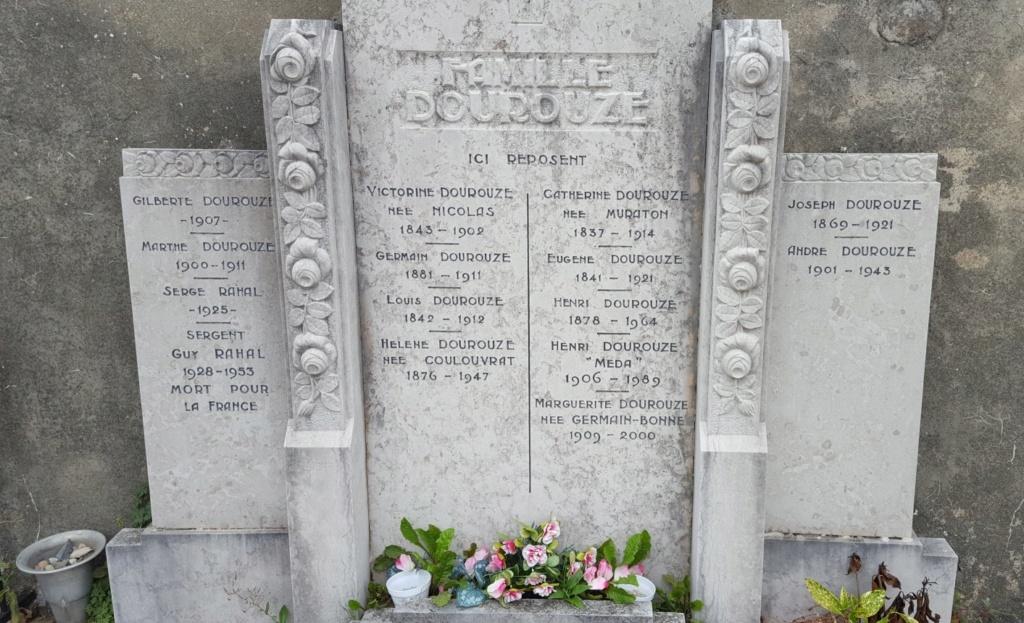 Mémoire du sergent Guy Rahal, décédé en 1953 Tombed10