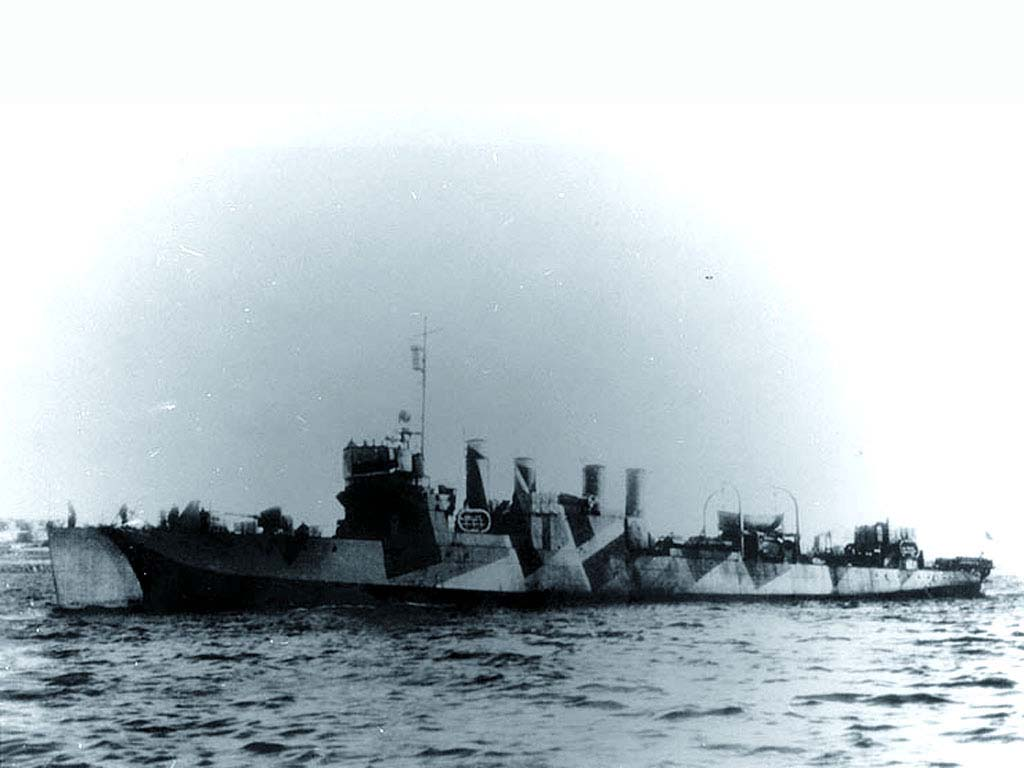 ROYAL CANADIAN NAVY - LES DESTROYERS Hamilt10