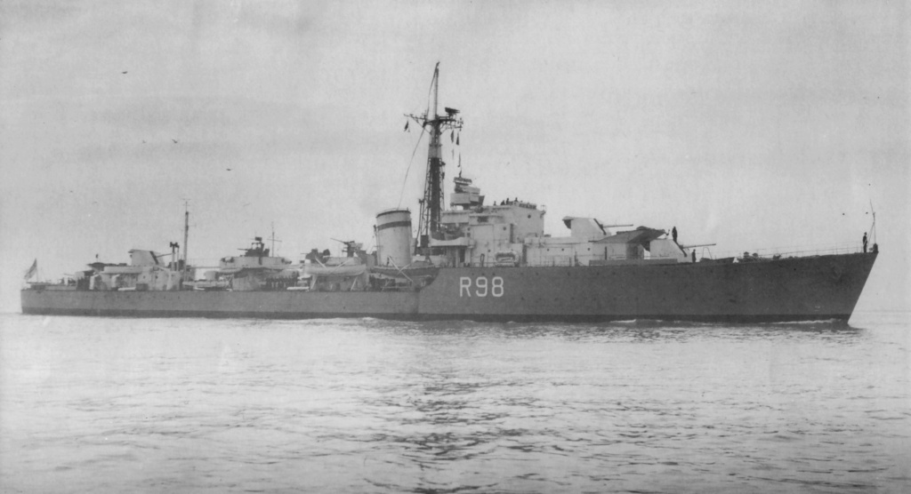 ROYAL NAVY : DESTROYERS DU OBDURATE AU ZODIAC - Page 3 Wager211