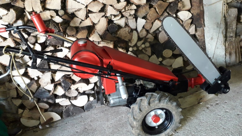 GRAVELY une machine d'antan remise en service Thumbn47