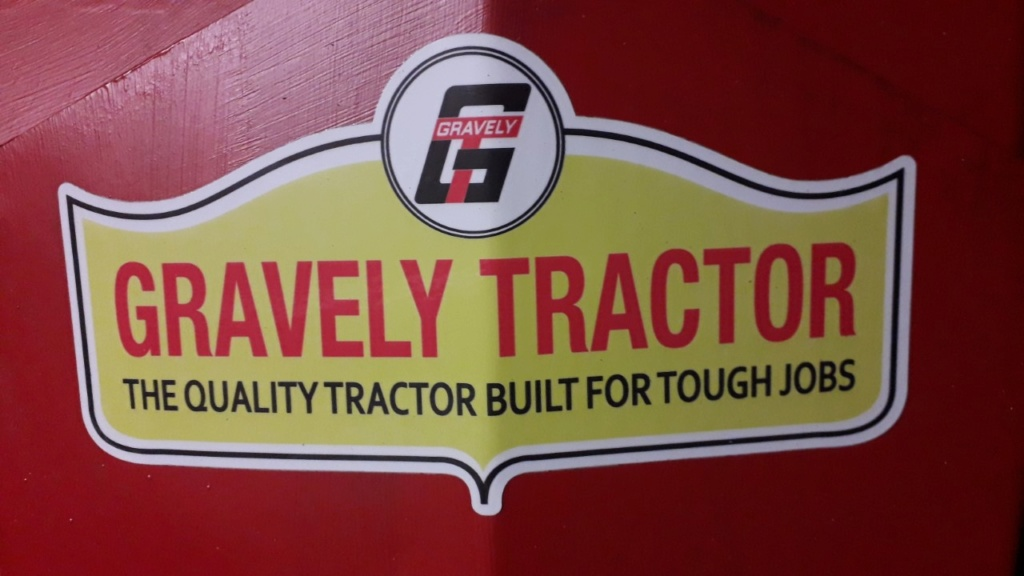 GRAVELY une machine d'antan remise en service Thumbn48