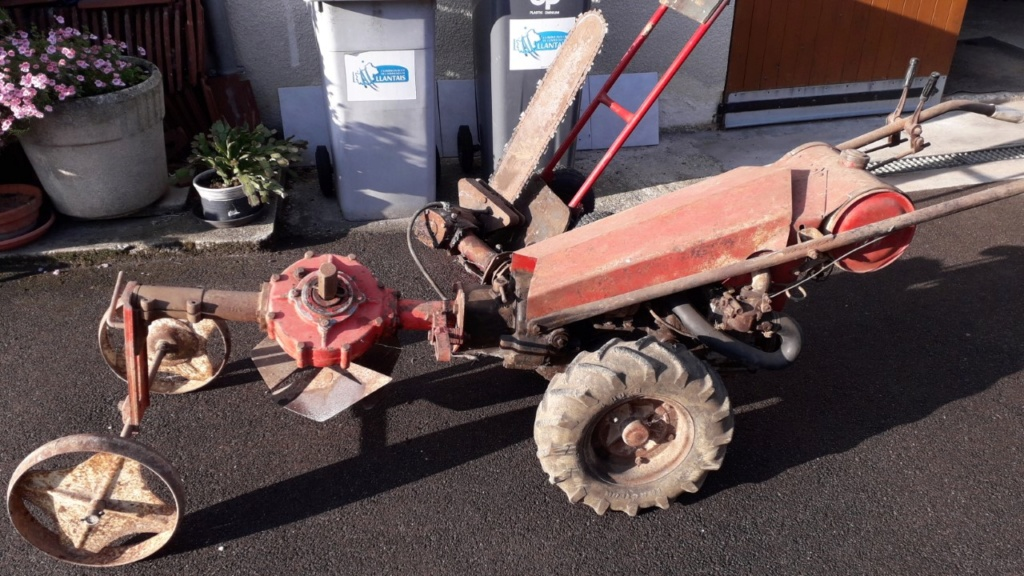 GRAVELY une machine d'antan remise en service Thumbn49