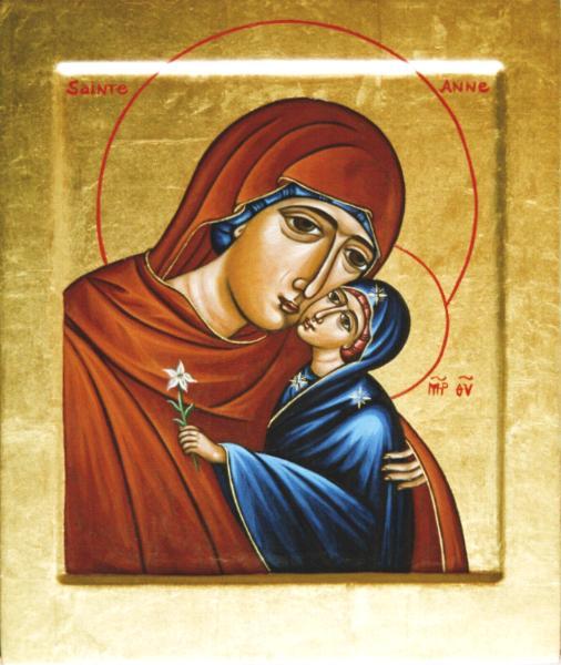 Le Féminin sacré (extrait d'une étude réalisée par Jean Bernard Cabanes) Sainte10