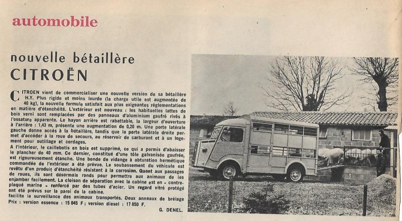 Type H bétaillère Scanbz10
