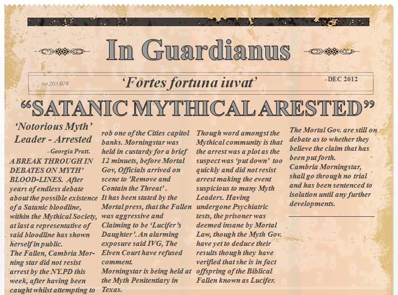 2012 NEWSPAPER ARTICLE -  ARREST OF NOTORIOUS CELESTIAL LEADER  News_a12