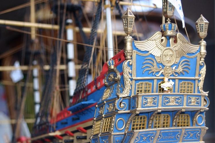 RENSEIGNMENTS SUR La Licorne de Bateau Modèle au 1/75ème  11709410
