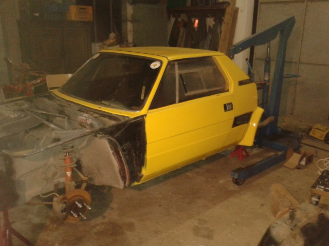 restauration FIAT X 1/9 2013-010