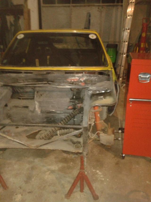 restauration FIAT X 1/9 2013-011