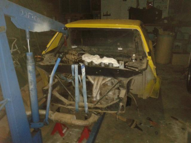 restauration FIAT X 1/9 2013-012