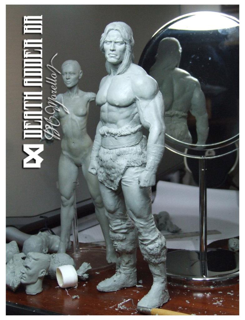 Statuettes, figurines, etc. (grandes photos incluses) - Page 8 Conan110