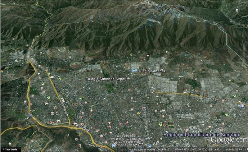 2012: le 18/12 - 5 - Lumière étrange dans le ciel  - Santiago (Chilie)  Santia10