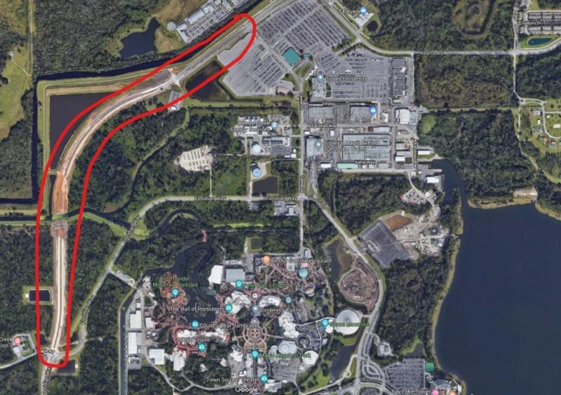 [Magic Kingdom] Nouveaux accès routiers au parc et modifications du parking Florid10