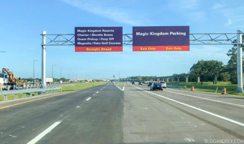 [Magic Kingdom] Nouveaux accès routiers au parc et modifications du parking Img_7610