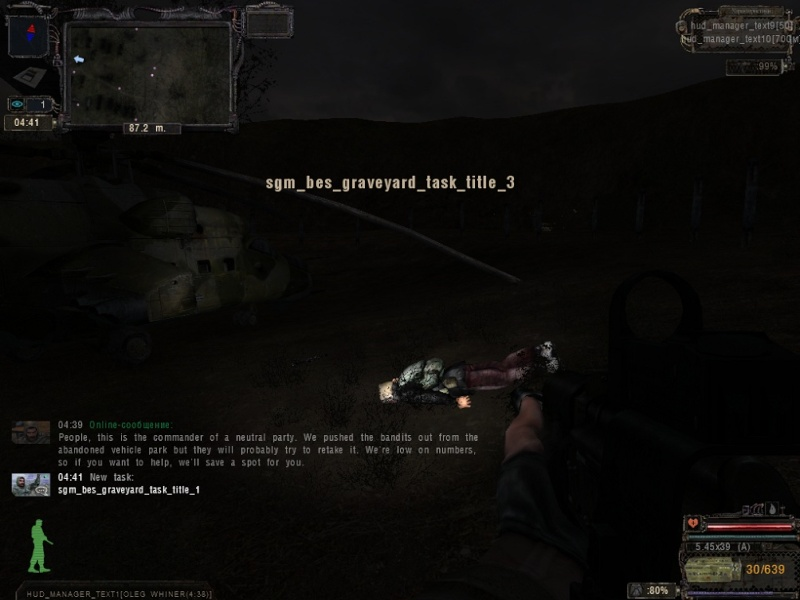 Sigerous mod  pour Shadow of Chernobyl  1610