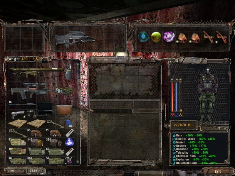 Sigerous mod  pour Shadow of Chernobyl  5010