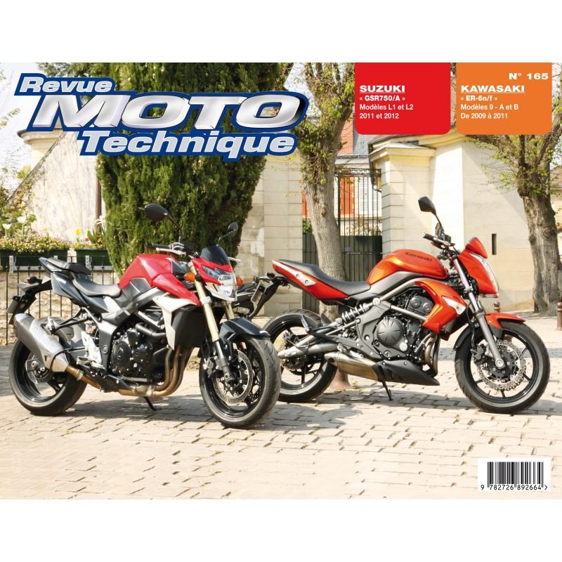 Revue Moto Technique (RMT) GSR 750 2013 (L3) Rmt-su10