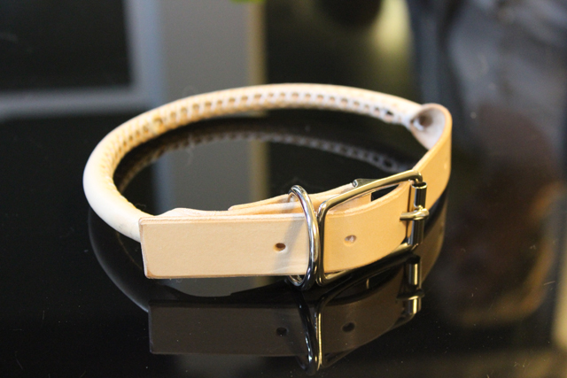 Rolled Leather Collar Collar10