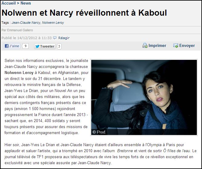 Nolwenn à Kaboul Captur11