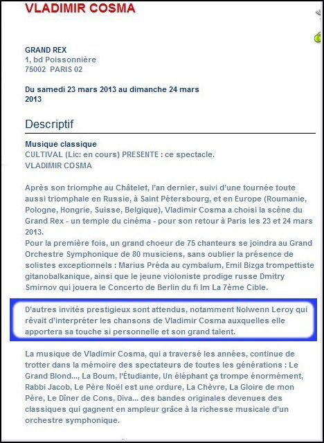 Vadimir Cosma invite NOLWENN Captur17