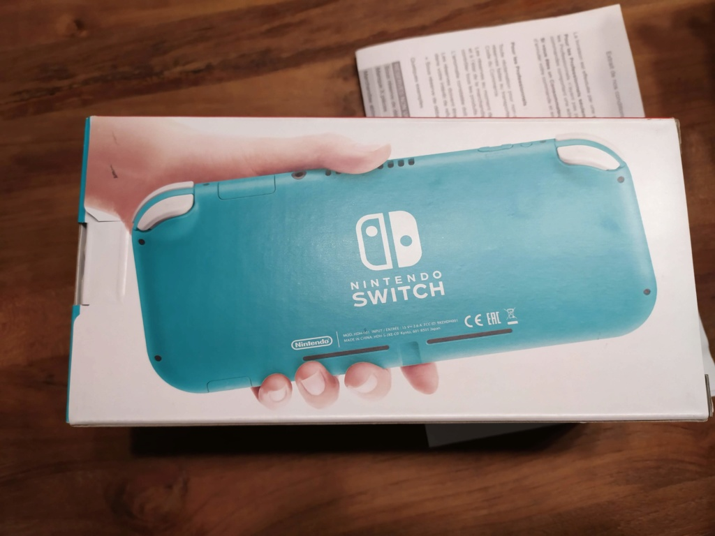 [VDS] Nintendo Switch Lite turquoise neuve Img_2057