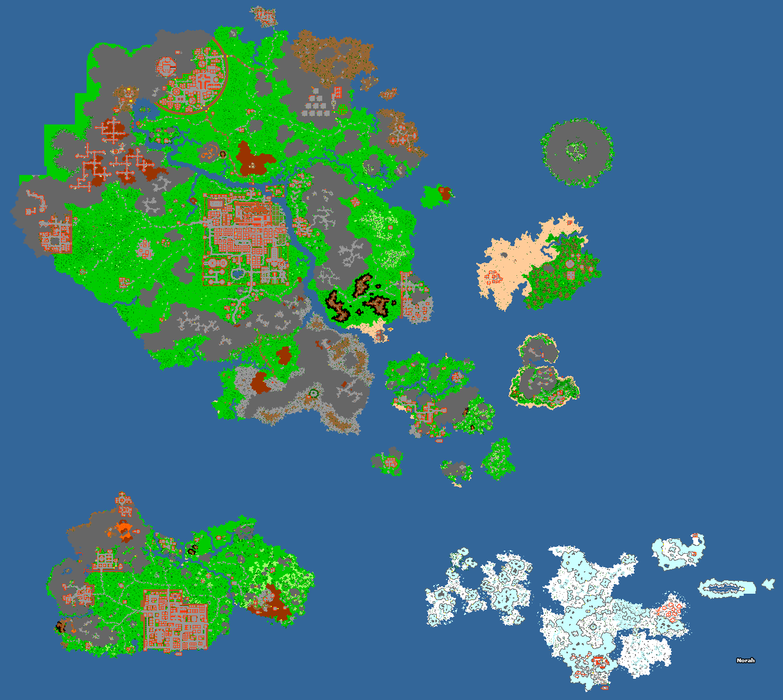 [Map] Norah (version tibia 11) 2dnxmf10