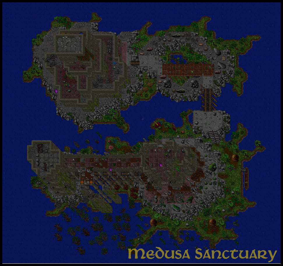 [Map] Medusa's Sanctuary | Cave Hunt | 8.60 Gubruh10