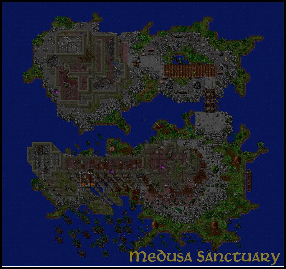 [Map] Medusa's Sanctuary | Cave Hunt | 8.60 Gubruh10