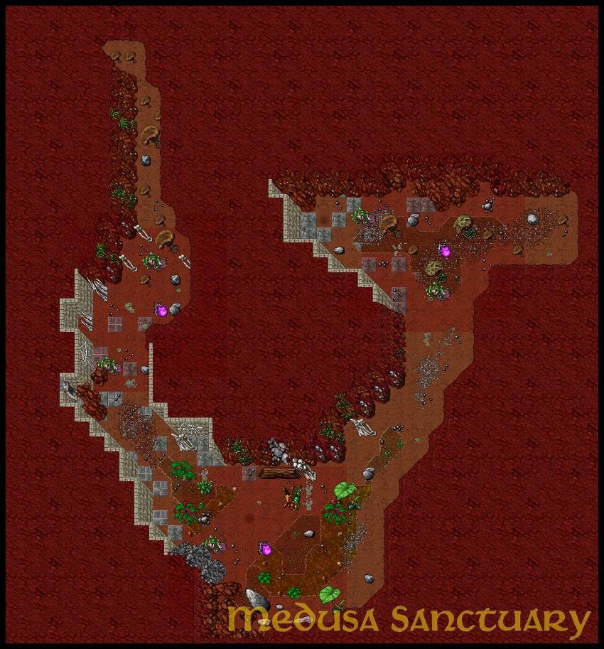 [Map] Medusa's Sanctuary | Cave Hunt | 8.60 Kdklad10
