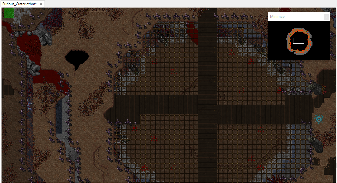 [Map] Claustrophobic Inferno y Furious Crater  TIBIA 12.60 Lwycww10