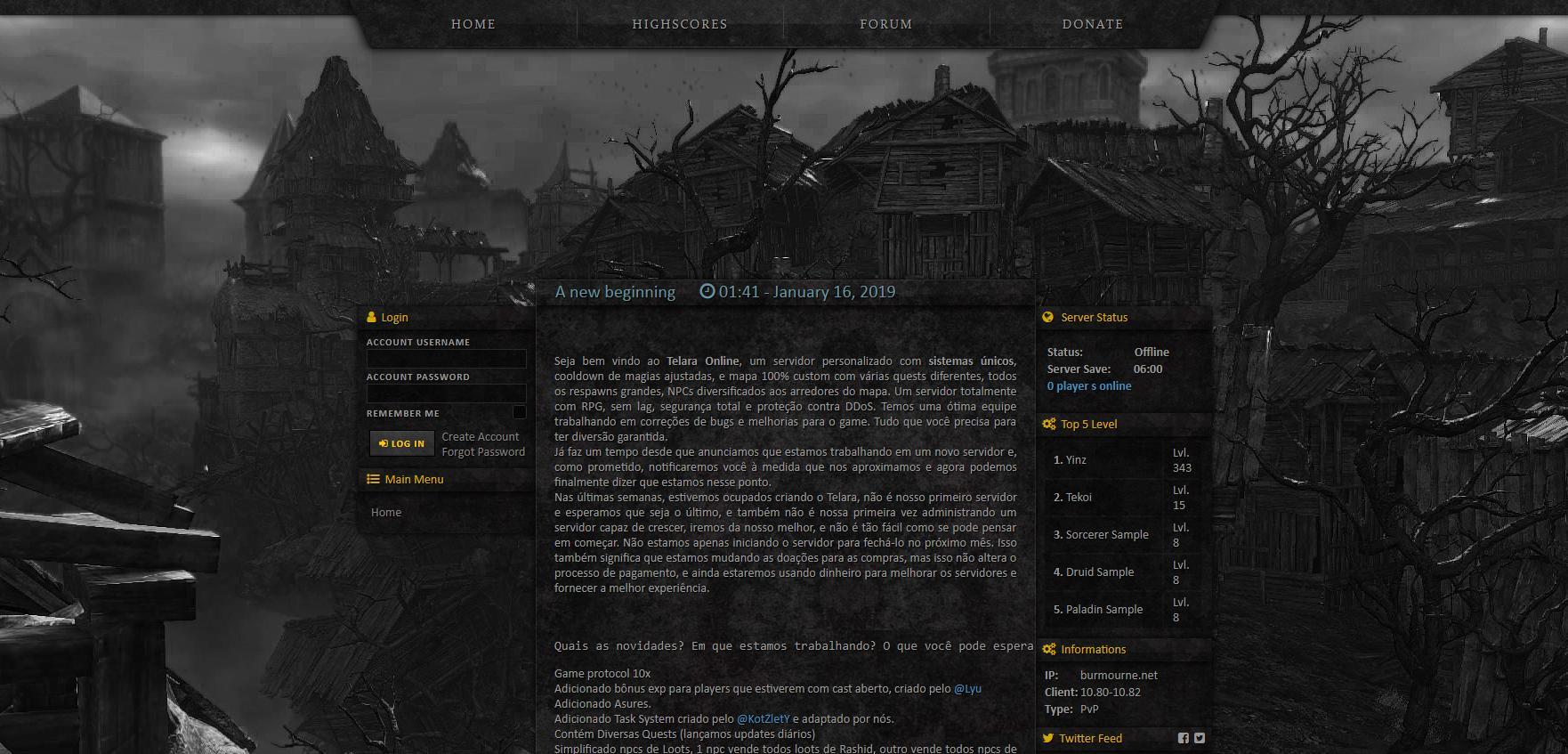 [Web] Baul layouts Gesior 2012 Previe14