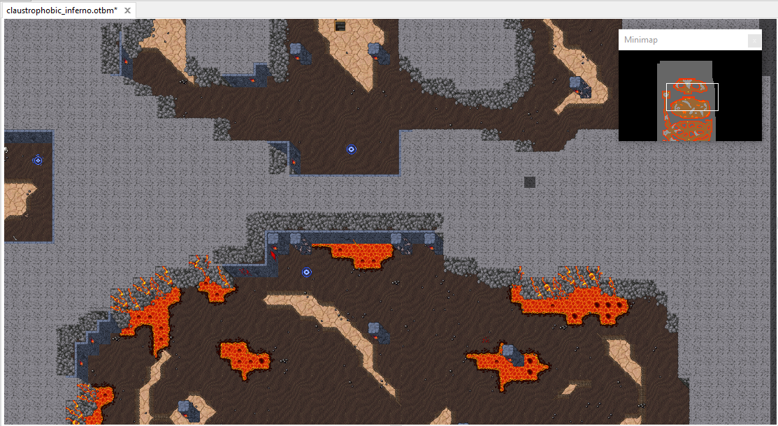 [Map] Claustrophobic Inferno y Furious Crater  TIBIA 12.60 Tcc2bv11
