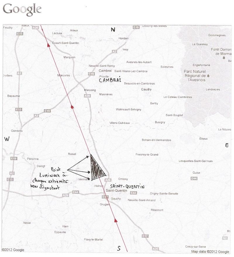 2012: le 14/01 à 21h50 environ - Engin triangulaire volant - saint-quentin (02)  - Page 3 Numari11