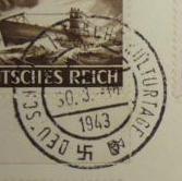 Deutsche Reichspost 1943 - Seite 4 1110