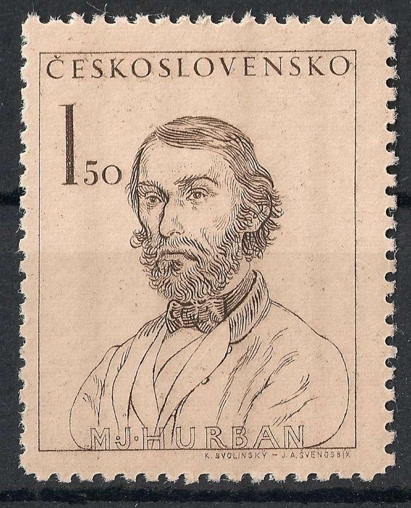 Tschechoslowakei - Briefmarkenausgaben 1948 Scanne18