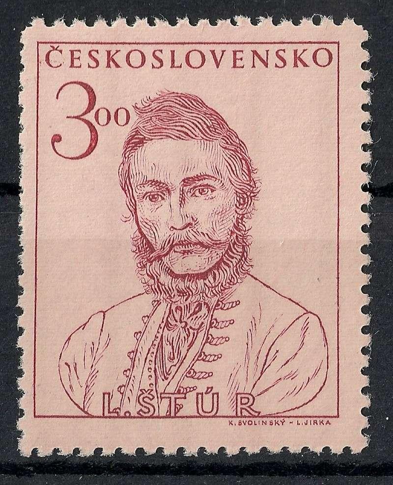 Tschechoslowakei - Briefmarkenausgaben 1948 Scanne19