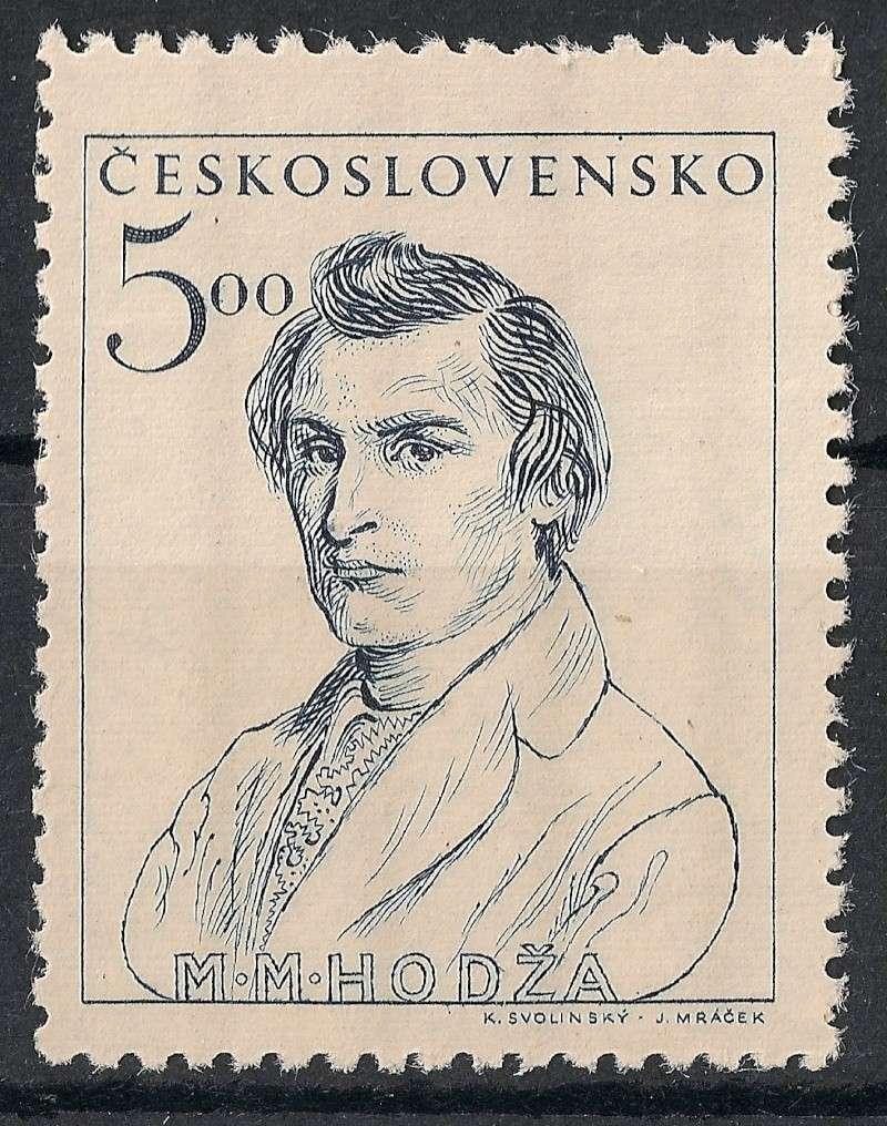 Tschechoslowakei - Briefmarkenausgaben 1948 Scanne20