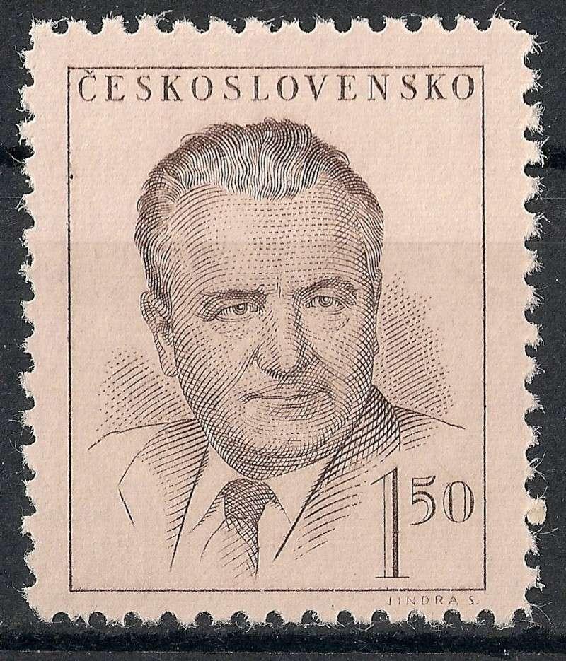 Tschechoslowakei - Briefmarkenausgaben 1948 Scanne35